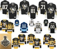 2016 Pittsburgh Penguins Mens 81 Phil Kessel 58 Kris Letang ...