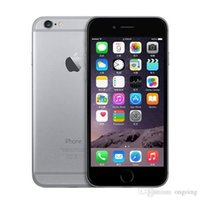 100% original remis à neuf Apple IPhone 6 support réel 4G empreintes digitales 16GGB 64GB IOS téléphone 4.7