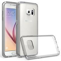 Pour tendre iphone7 7plus Anti-Scratches TPU Premium Gel Slim Flexible Bumper de protection en caoutchouc pour couvrir les cas bord S7 S6 S5 S4 SCA126
