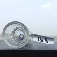 nouveau bol en verre chaud femme bol joint toro bols 18mm tobocco pour plates-formes pétrolières bongs en verre et pieps