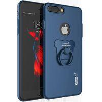 IPhone 7 étuis, iphone 7 plus caisses arrière PC avec 360 degrés tournant Ring Stent pour iPhone 7 et iPhone 6s