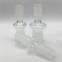 Adaptateur en verre de 14mm à 18mm avec mâle 10 adaptateurs en verre de taille standard de taille pour eau de verre hookahs bong