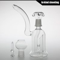 pompe à huile de barbotage truque bongs en verre Bubbler bongs matrice verre Bongs Percolateur Pipes Verre 6.2 '' Hauteur Cheap eau Tuyaux de Bongs