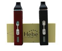 Titan 2 sec Herb Vaporisateur Titan2 Hebe Titan 1 Herbal Vape à base de plantes vaporisateurs Titan1 avec écran LCD de Tempreture Et Hebe Batterie 2200mah