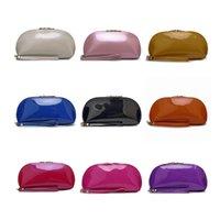 Lady Japanned Leather PU Clutch Bag Handbag Coin Purse key C...