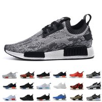 Wholesale NMD Men' s NMD Runner PK Primeknit Shoes Fashi...