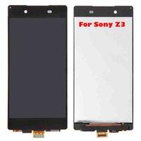 A + + Qualité pour SONY Z3 D6603 D6643 D6653 Affichage à cristaux liquides écran tactile pièces de rechange de réparation Livraison gratuite