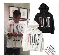 VLONE hedging autumn and winter tide brand men' s long- s...