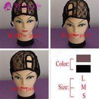 U part wig cap Lace weave hair caps U shape Middle right lef...