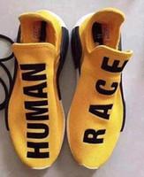 Yellow Color NMD runner Human Race Pharrell Williams Men Bas...