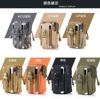 2016 men outdoor military style camo men bumpacks pocket bag...