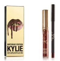 In stock! Kylie Jenner Lip Kit Kylie LEO Metal Gold THE LIMI...