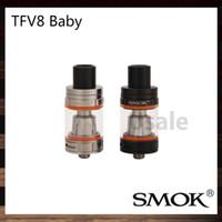 Smok TFV8 bébé Réservoir 3.0ml e-jus Capacité Top Recharge TFV8 Bébé Nuage Bête atomiseur 100% Original
