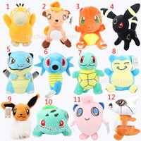 Poke Plush dolls toys EMS 20cm 12 style children Pikachu gen...