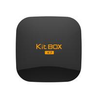 OTT Android Streaming Media KIT K7 Kodi16. 1 S905 Quad- core 4...