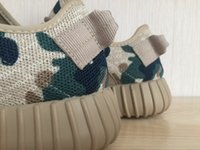 Wholesale 350 Boost Camo Tan AQ2669 Low New Athletic Outdoor...