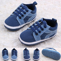 New Arrival Hot Wholesale Micro Suede Lace- UP Baby Boy shoes...