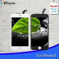 Pour iPhone 6 6 Plus Écran LCD Touch Digitizer Assemblage 4.7 'avec Cold Press Frame Aucun Dead Pixel Qualité AAA
