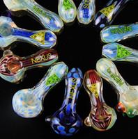 Nouveau Arrivée Free pipe fume Livraison Glass Spoon Pipes Pour Fumeurs pipes en verre bongs tabac pour 42g tube en verre