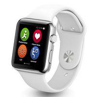 2016 nuevo reloj elegante del bluetooth iwo 1: 1 smartwatch para el iphone de la manzana y el teléfono del androide de Huawei del xiaomi de Samsung de la manzana