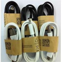 Micro USB cable Micro V8 sincronización de datos 1m 3FT para Android Samsung S7 S6 Note5 envío gratuito