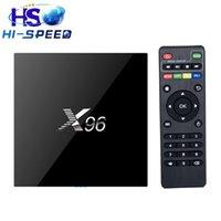 20PCS X96 s905x android 6. 0 Marshmallow tv box Amlogic S905X...