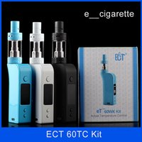 Authentic ECT eT60wk with fog s 2600mah 60W electronic cigar...