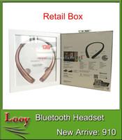 TONE INFINIM HBS-910 collars casque sans fil NOUVEAUTEMENT BLUETOOTH écouteurs écouteurs casque casque rétractable DHL Livraison gratuite