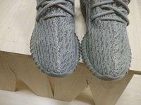 New White Pirate Black Original Kanye West 350 Boost Low Men...