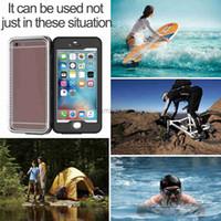 Nueva caliente venta de productos Teléfonos Celulares Móviles cubierta elegante de la piscina de buceo impermeable cubierta de la caja para Iphone 6s