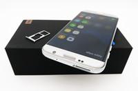 Goophone smartphone s7 bord Android 6.0 téléphone cellulaire téléphone montrent faux 4G Lte 5.5inch 64bit mtk6592 téléphones réel 1GBRAM 8GBROM
