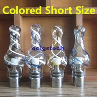 Color Glass tank dry herb atomizer for ego battery Globe Wax...