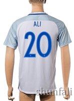 Customized 16- 17 European Cup England 20 ALI Soccer Jerseys,...