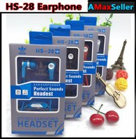 Fashion HS- 28 Universal 3. 5mm In- ear Bass Headphones Earphon...