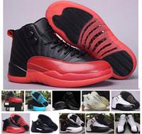 2016 high quality retro 12 12s XII Mens Basketball Shoes gym...