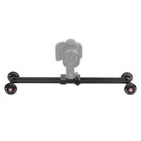 Andoer 60 centimetri 4 Ruote Video Rail Track pattinatore Slider Dolly Tabella auto stabilizzatore per Canon Nikon Sony DSLR videocamera DV D4345