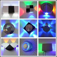 Modern 4W LED Wall Lamp With LED Driver AC85- 265V Aluminum O...