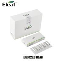 100% Original Eleaf CE tête en céramique 0.3 / 0.5ohm ECL 0,18 / 0.3ohm bobines doubles pour iJust S 2 Melo Atomizer