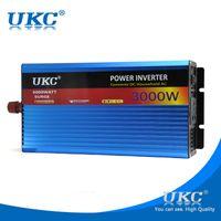 UKC 3000W 24V к 220V инвертор для домашнего применения для СВЧ-печь, холодильник, электрическая дрель, автомат для резки, водяной насос