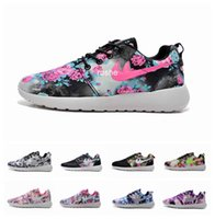New Design Roshe Run Print Running Shoes For Women & Men, Co...