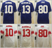 #13 odell beckham jr blue white Stitched Elite Game Football...