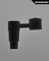 NOUVEAU Bras de bras en céramique clous bong céramique tuyau de fumage céramique cuvette en céramique taille commune 18,8 / 14,4mm FC5009