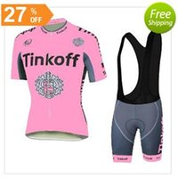 Cycling Jerseys Set Tinkoff Saxo Bank Riding Jerseys For Wom...