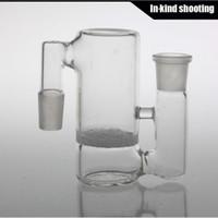 Fabricant cendrier lourd épais 14.4mm ashcatcher 14mm verre fumant accessoires pour barboteur et tuyaux d'eau