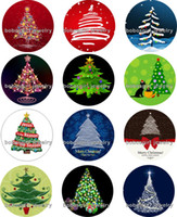 Free shipping tree christmas Snap button Jewelry Charm Poppe...
