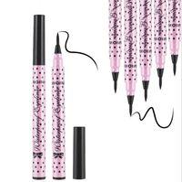 Mode YANQINA Eyeliner Noir Make Up Outils Cosplay imperméable liquide eyeline Party Maquillage Cosmétiques Vente en gros Livraison gratuite