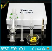 White Nectar collector kit honey straw Glass pipe water pipe...