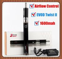 vape pens evod twist ii 2 kit starter kits 1600mah Variable ...