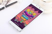 Android 6.0 huawei p8 plus 6.0 pouces téléphone smartphone MTK6580 Dual core double Sim 512 RAM 4GB ROM téléphones cellulaires Appareil photo wifi GPS gratuit dhl