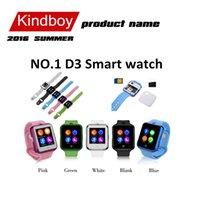 No.1 D3 montre Smart Watch 1,44 pouces à écran tactile Bluetooth support de montre wirst Thermomètre caméra à distance montre de santé à puce TF carte SIM